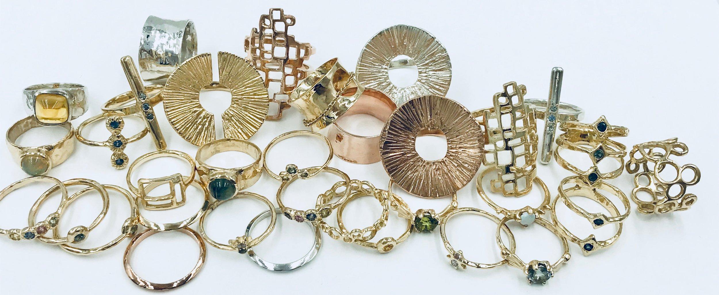 sampling of rings