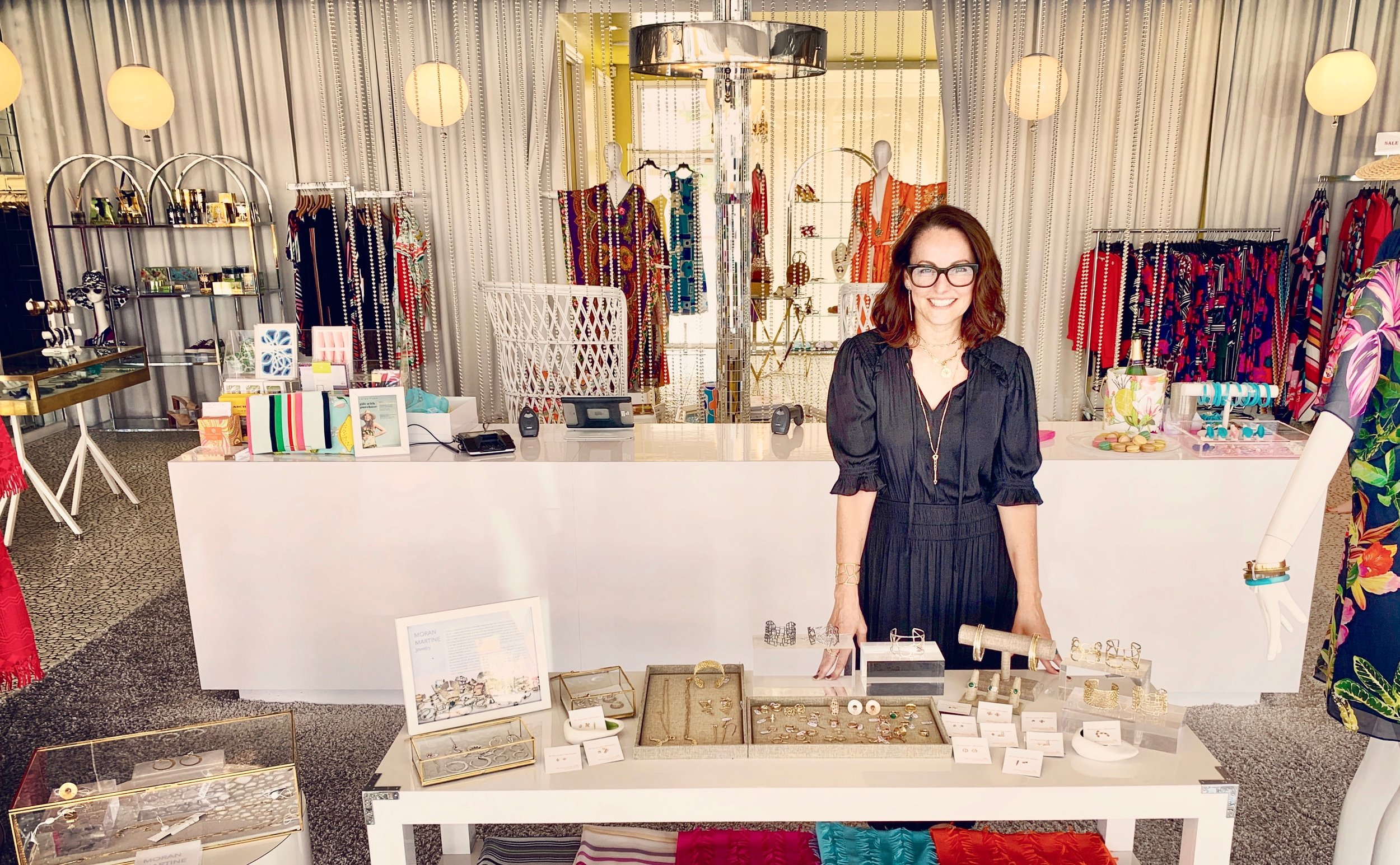 Suzanne hosting a Trunk Show @ Trina Turk Palm Springs.