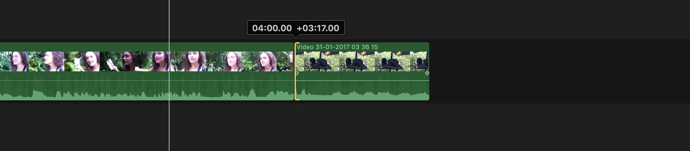 FCPX - During a ripple trim