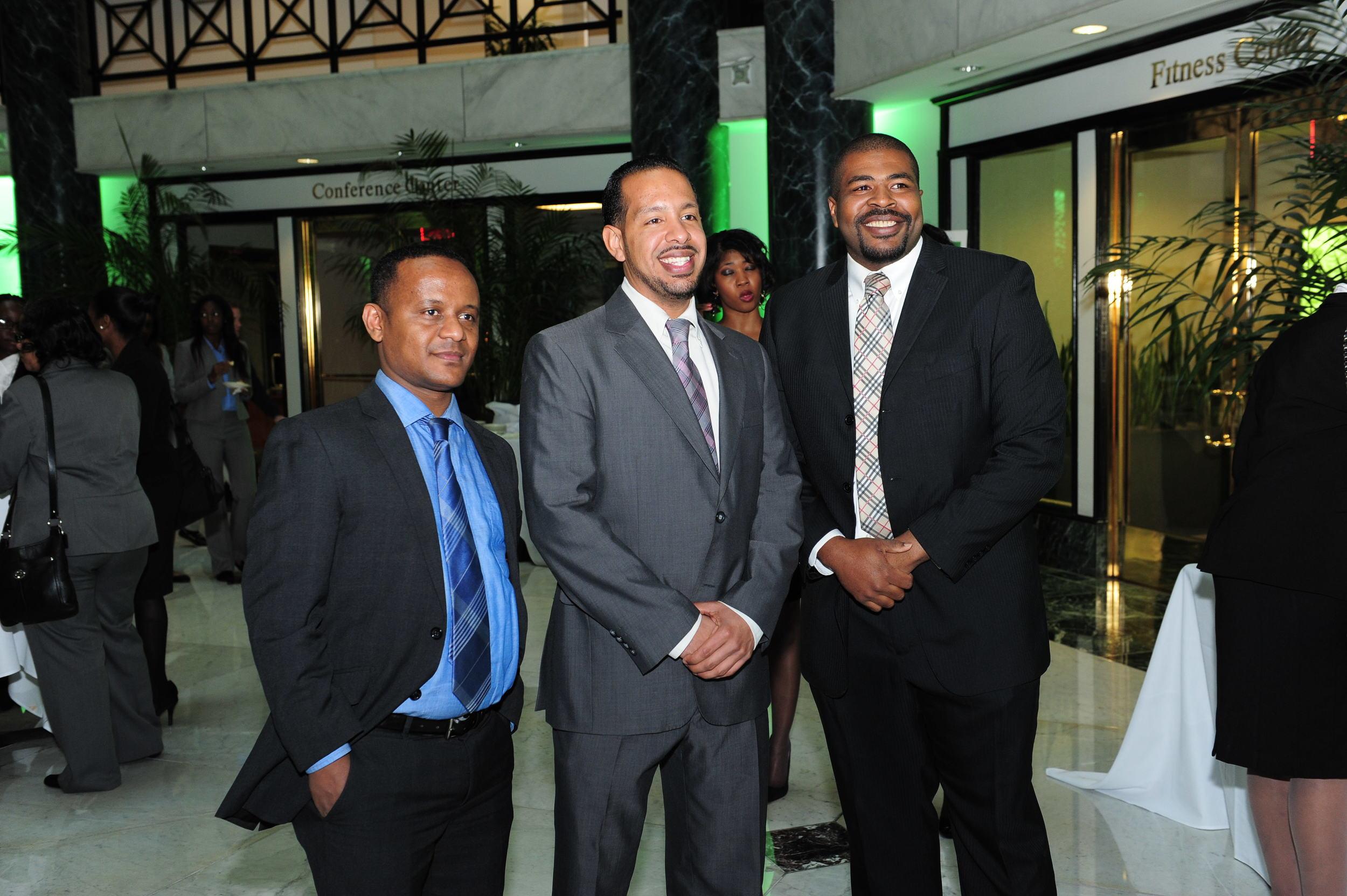 Scholarship Awardees w. Attendee.JPG