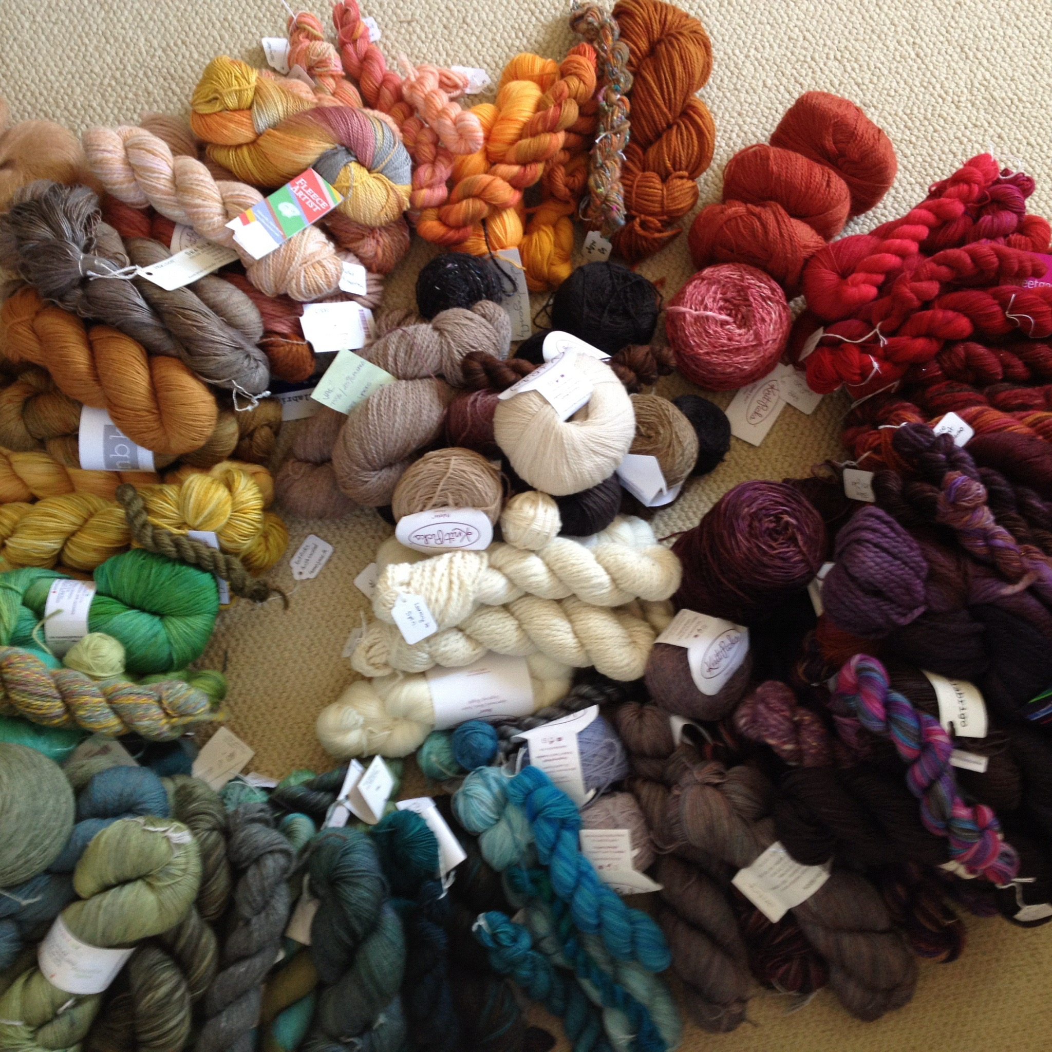 Learning to Speak Yarn - A new blog series at Georgian Bay Fibre Co.