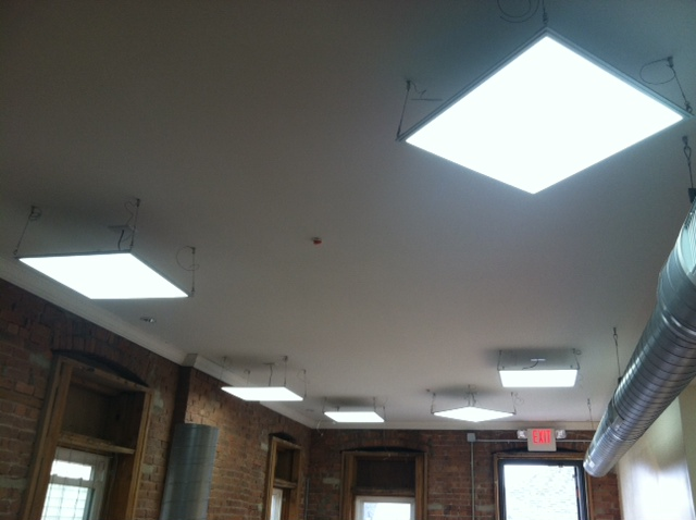 Example of a Kopa low-energy LED install.