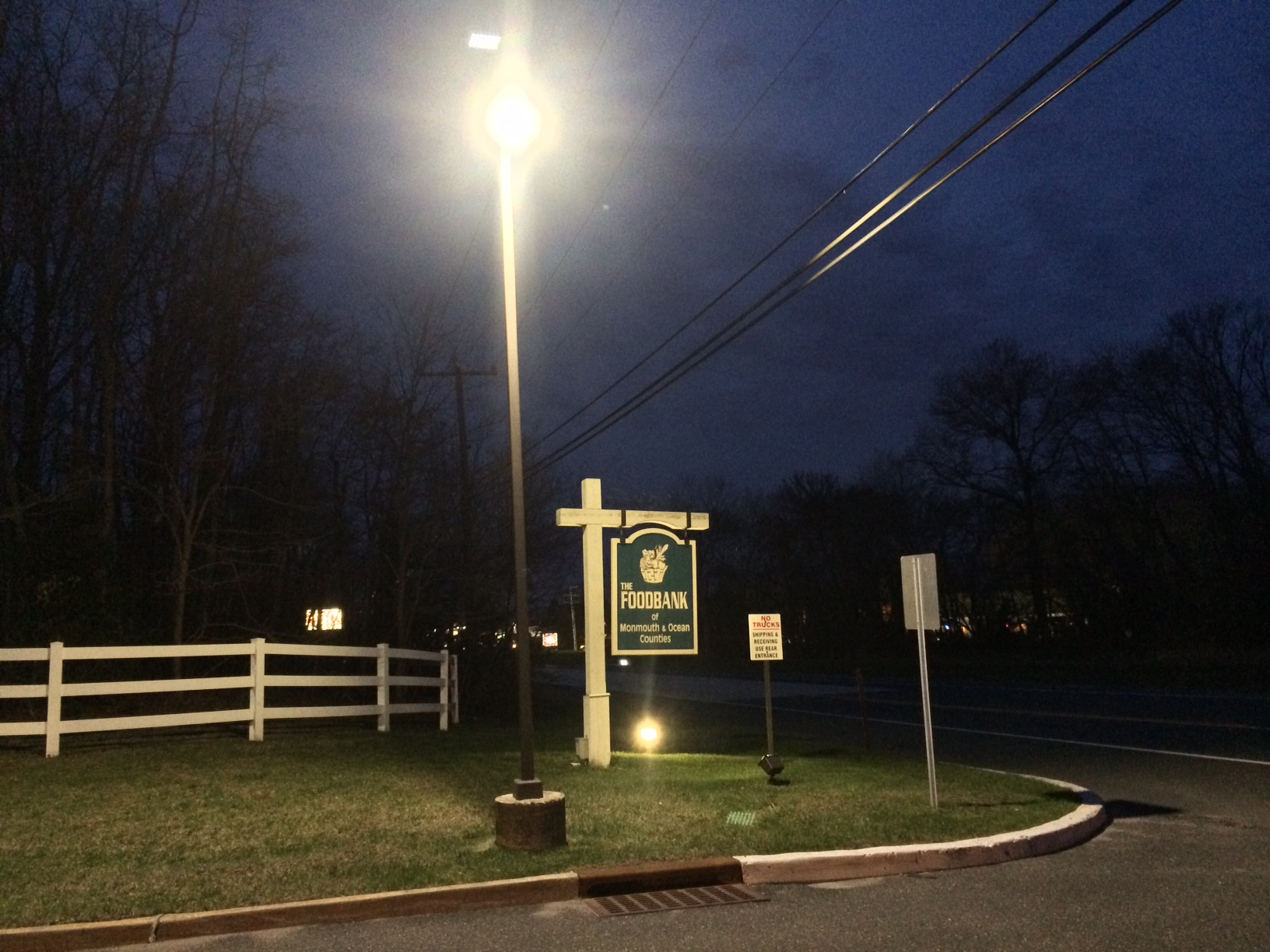 The FoodBank of Monmouth and Ocean Counties (roadside)