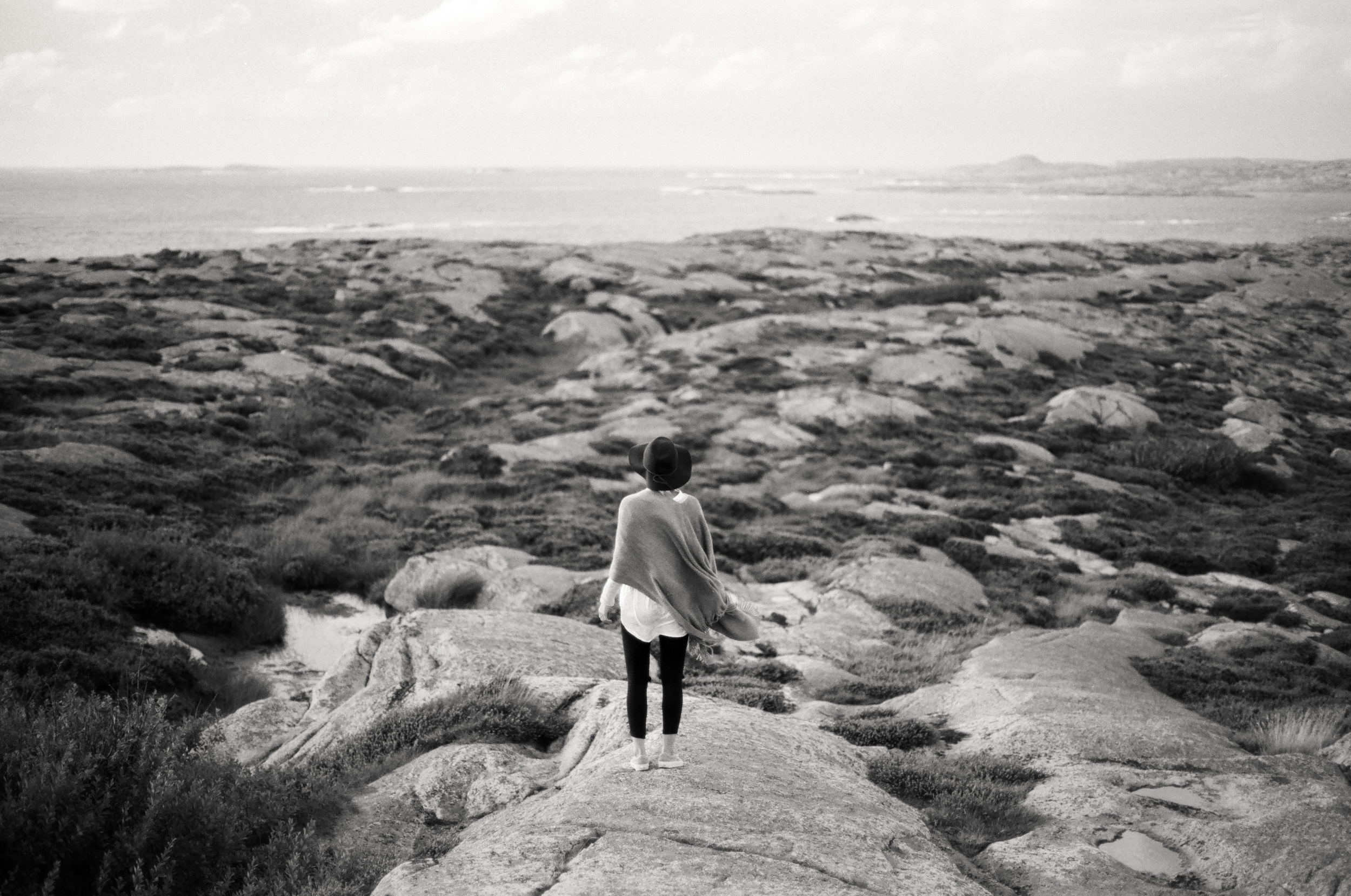 Homage to Bergman // Smögen, Sweden // 35mm B&W Film // 2014