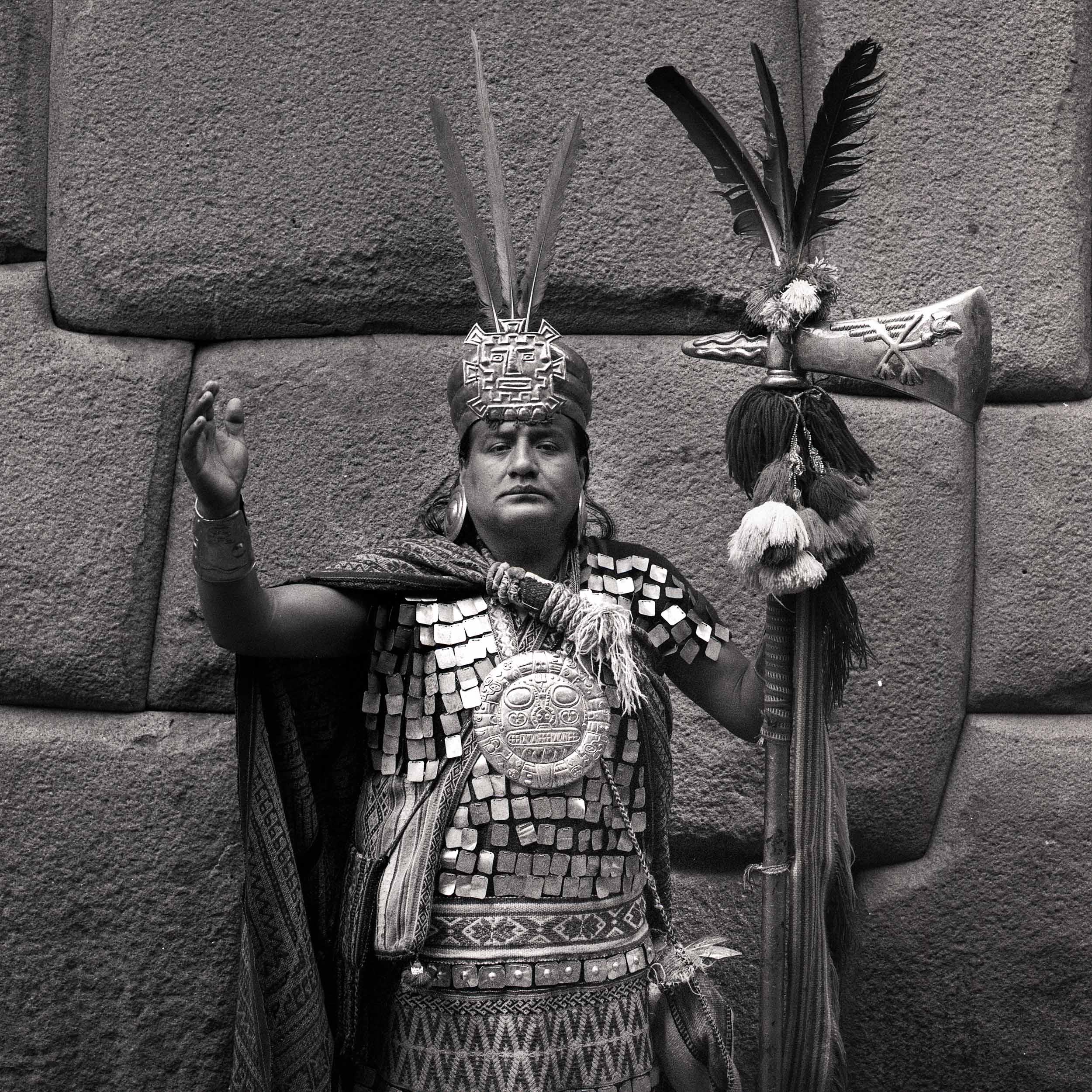 Manco Cápac // Cusco, Peru // 120mm B&W Film // 2014