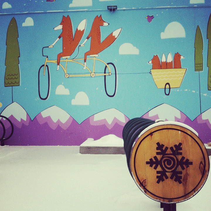 Commissioned Mural for Equinox Brewing.