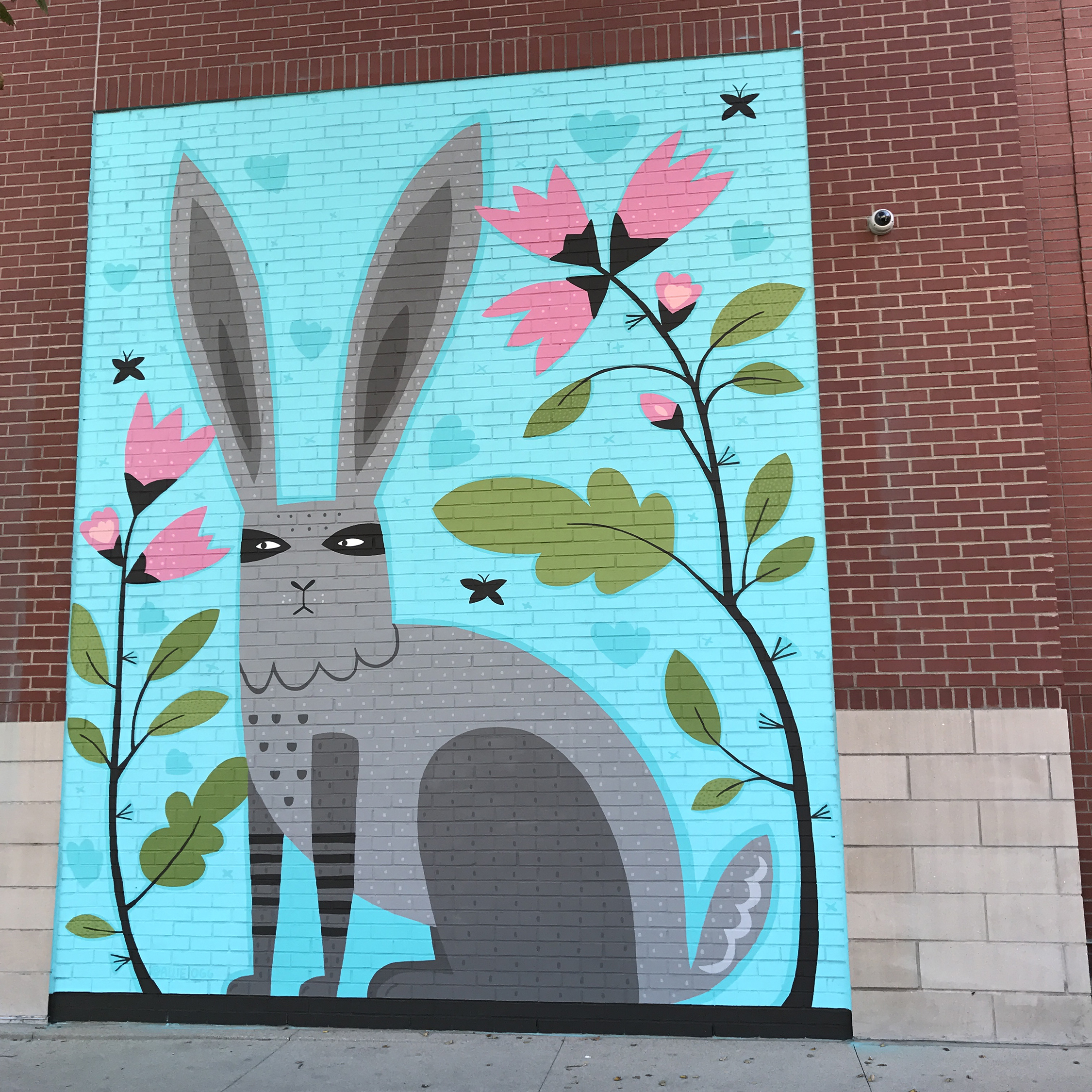 Mural on Uncommon Apartments in Fort Collins