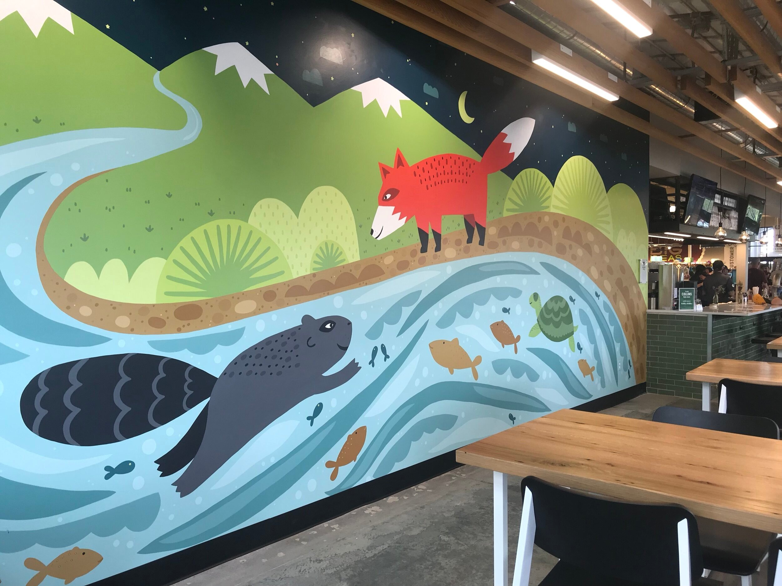Mural for Whole Foods Fort Collins