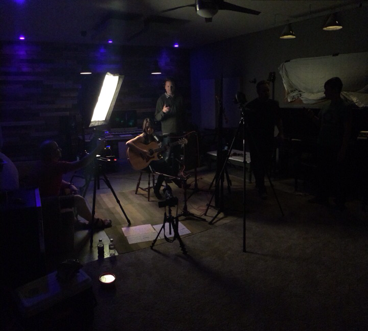 In tracking-video shoot with Red Barn Studio