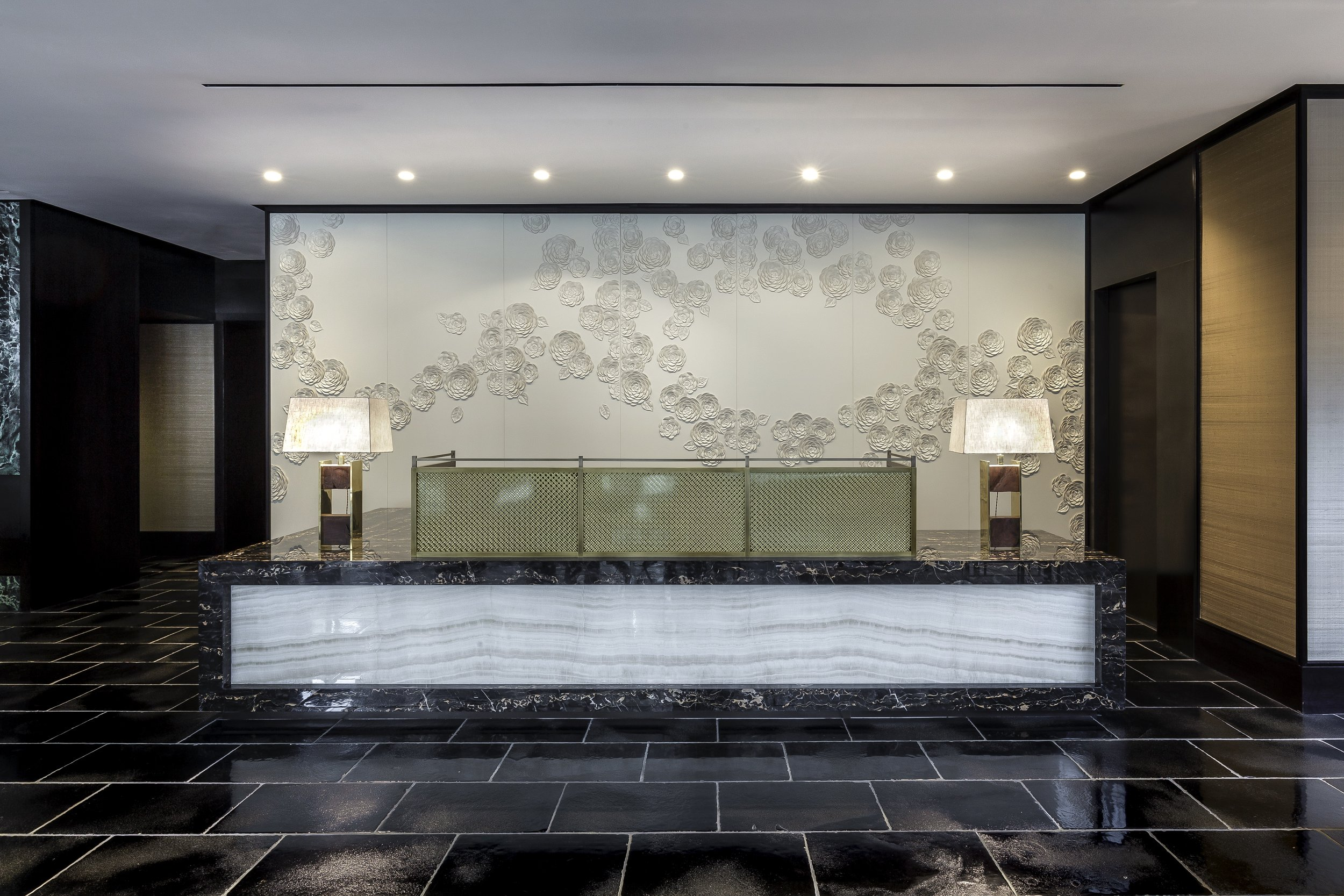The Concierge Lobby at The Pacific SF