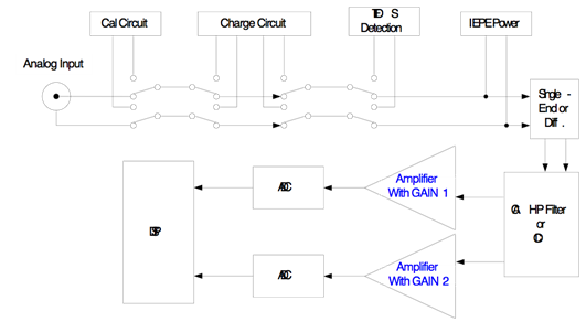 Figure 22:Typical Input Block Diagram (Spider-80X and Spider-81)