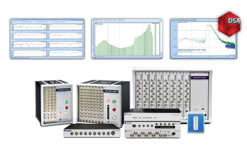 High ChannelDynamic Signal Analyzers - Modular System Scales up to 512 ChannelsDownload DSA Brochure