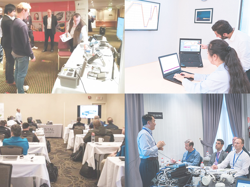 2019 Training Courses & Seminars - Register for a Crystal Instruments Training Course or Seminar near you.