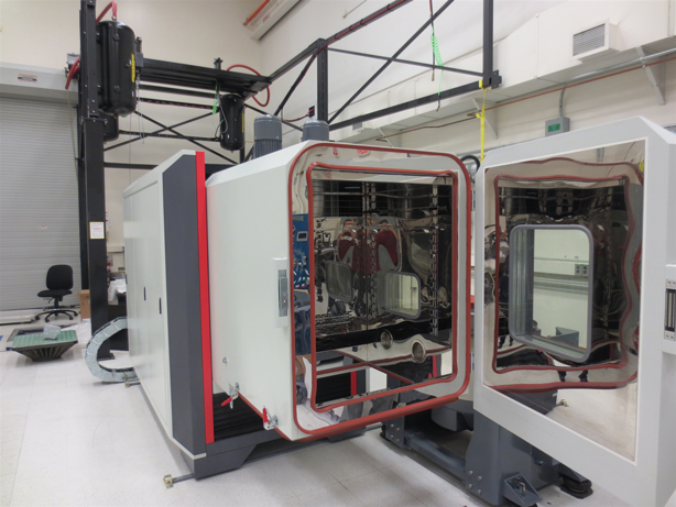 Sentek Dynamics' Environmental Testing System for Battery Testing