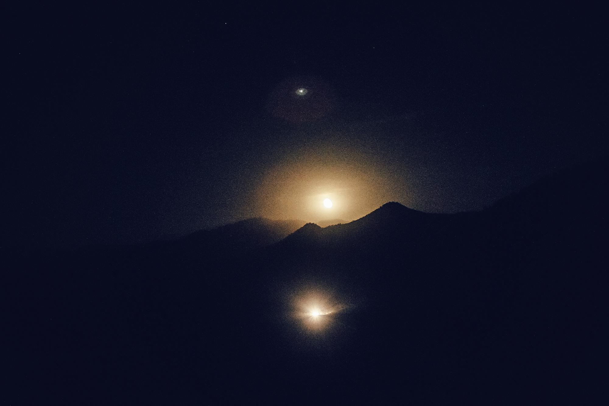 Moonrise, Three Rivers