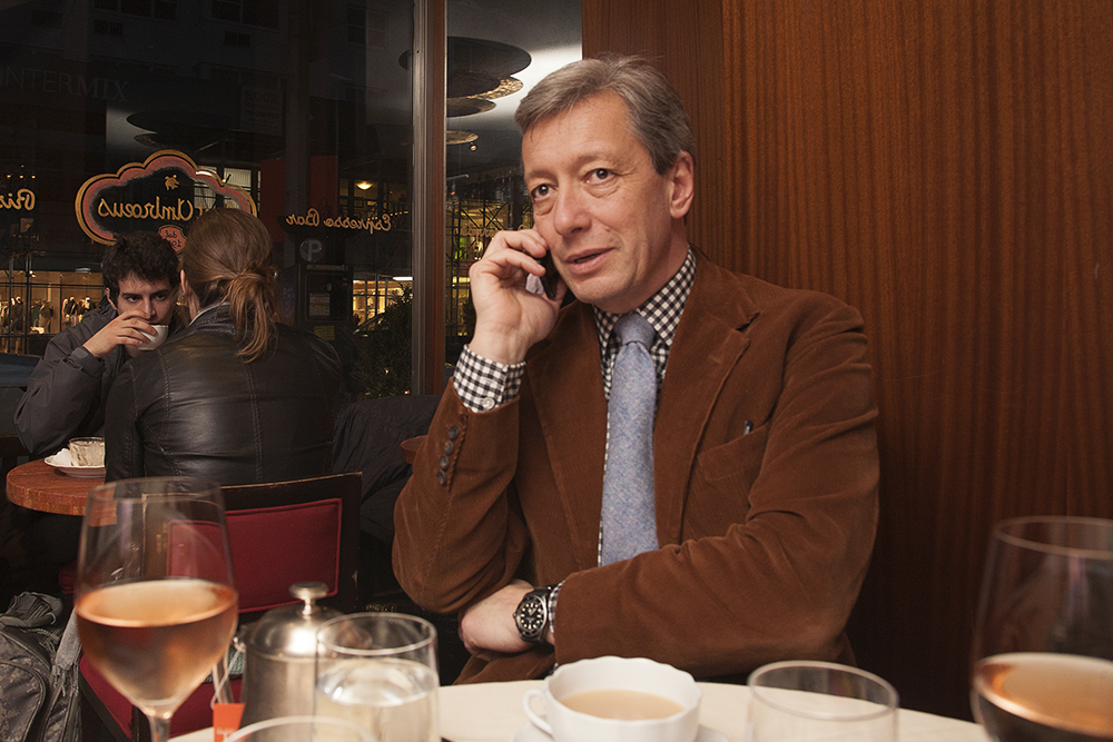 WSJ, APril 2014, Tracked: Frederic Malle by photographer Martine