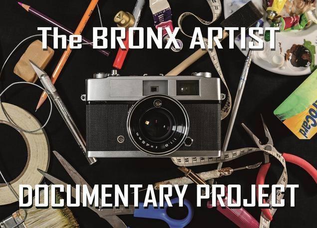 The Bronx Artist Documentary Project:Book, Martine Fougeron, pages 23-32.Portraits of: Matt Nolen, Harriett Belag,Showmon Hastanan, Helena Starcevic and Barbara Korman,