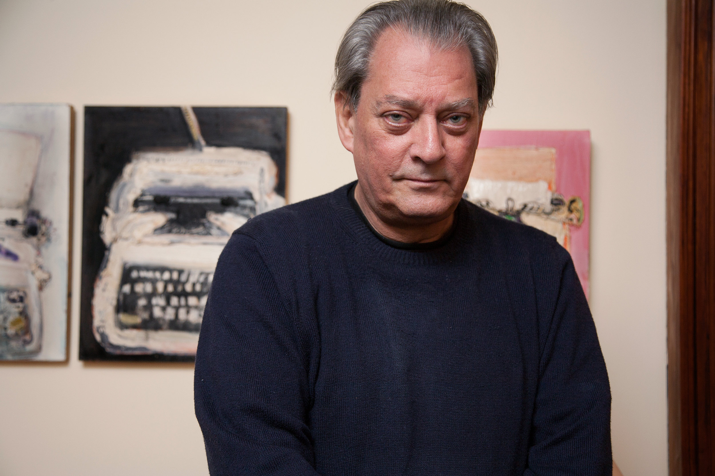 Martine Fougeron_Paul Auster