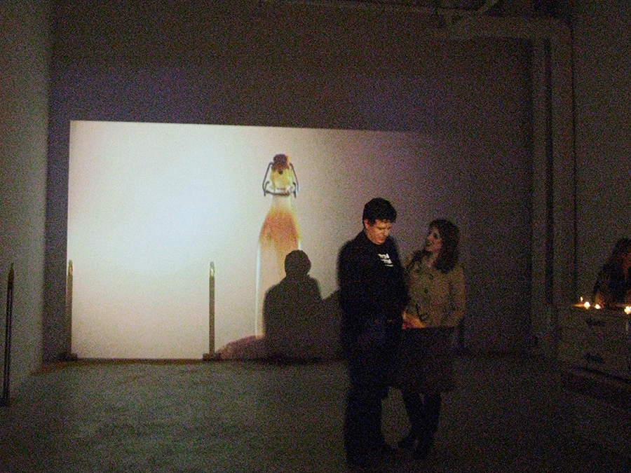 The Hole Gallery installation: April 18, 2013: Video-projection.