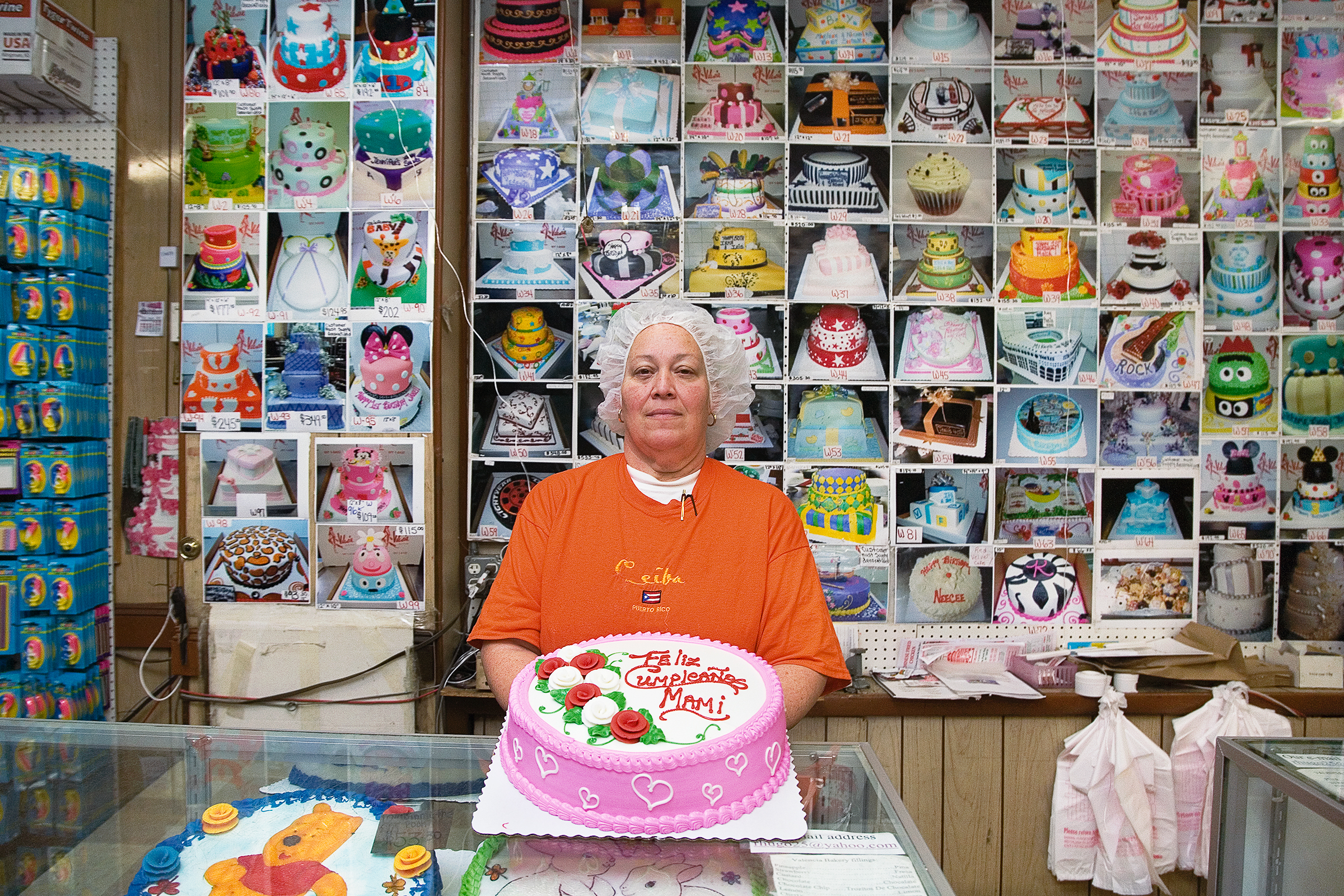 The Photography Show, presented by AIPAD, 'Americana ' curated by Sherri Littlefield,. 'Valencia Bakery: Head Decorator Nancy', from  The Bronx Trades Project