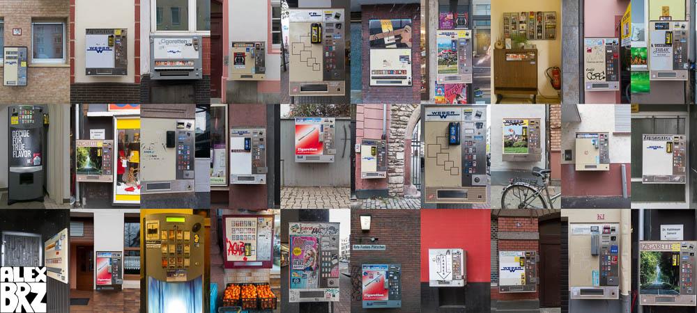 Cigarette Dispensers #1 Mainz December 2012