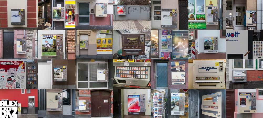 Cigarette Dispensers #2 Mainz December 2012