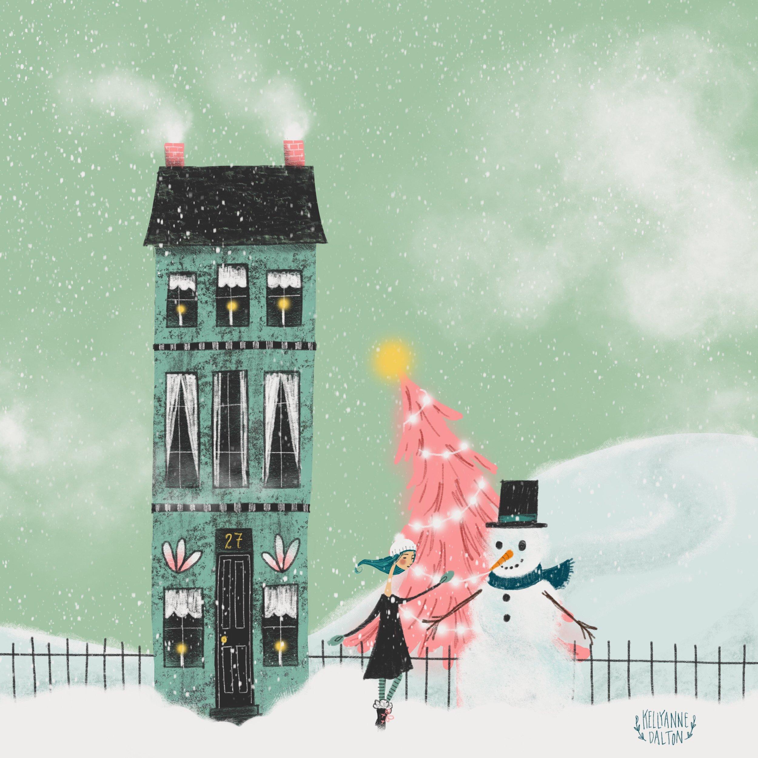 snowmandaltonabbey