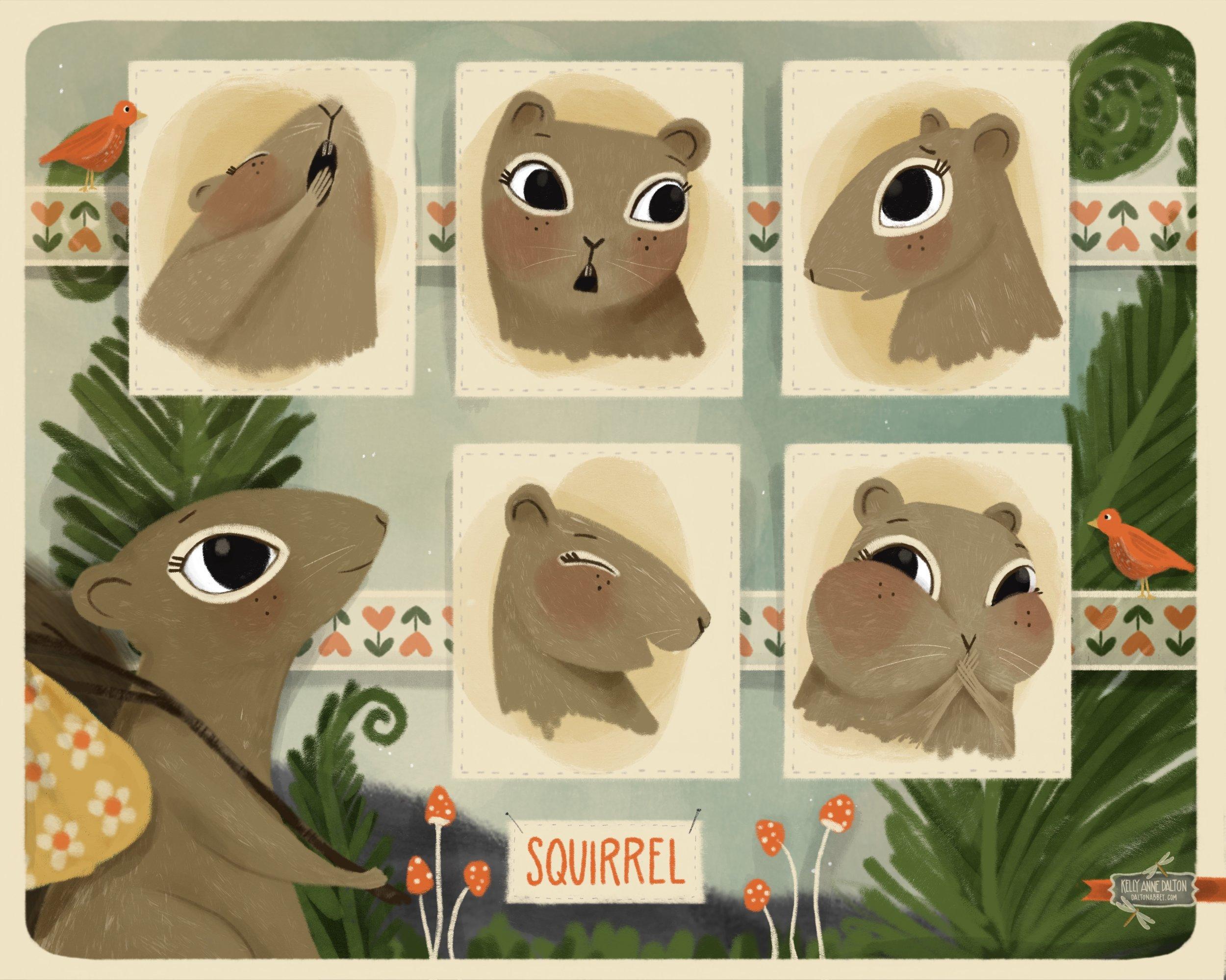 kellyanne_dalton_squirrel expressions