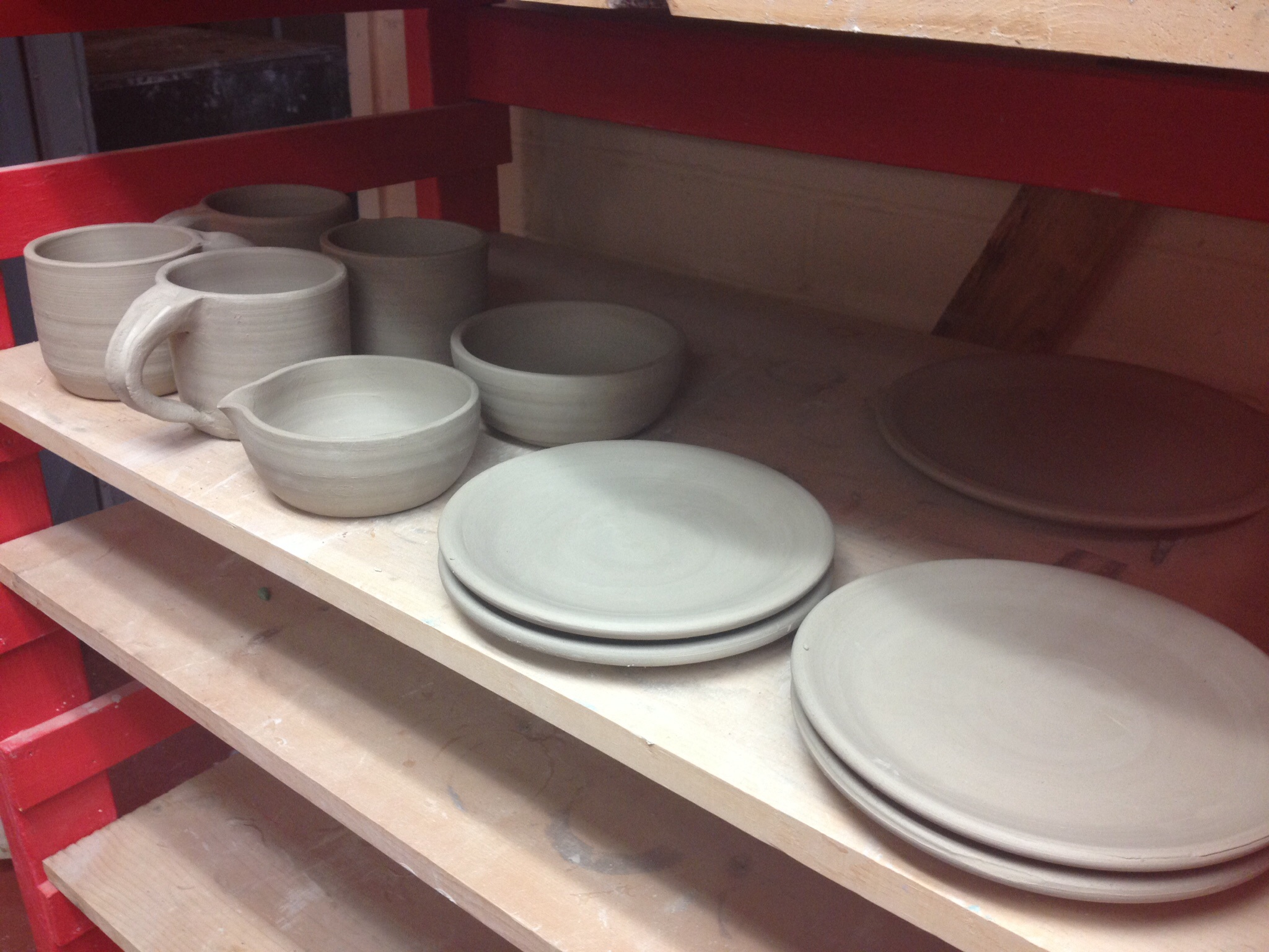 More Mugs, Plates Finished