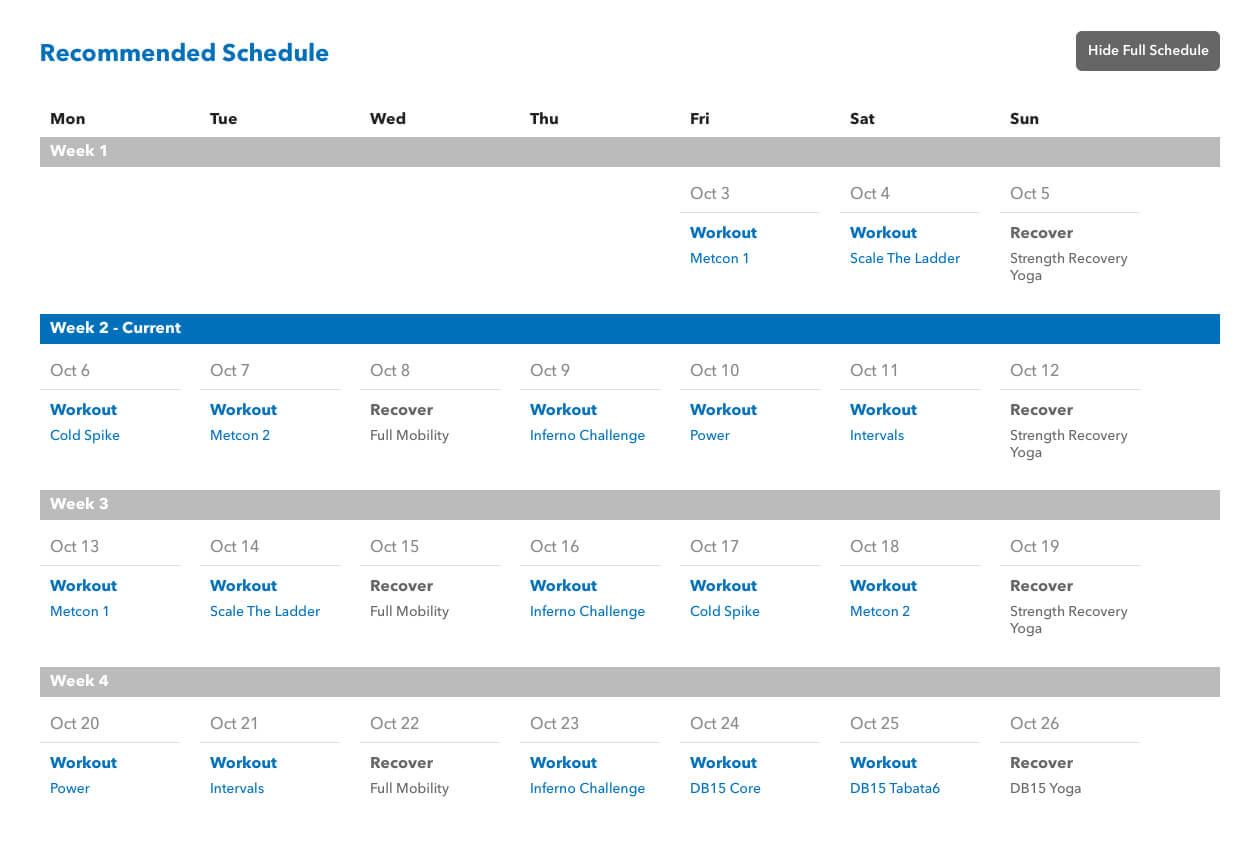 Previous schedule,introduced circa 2014.