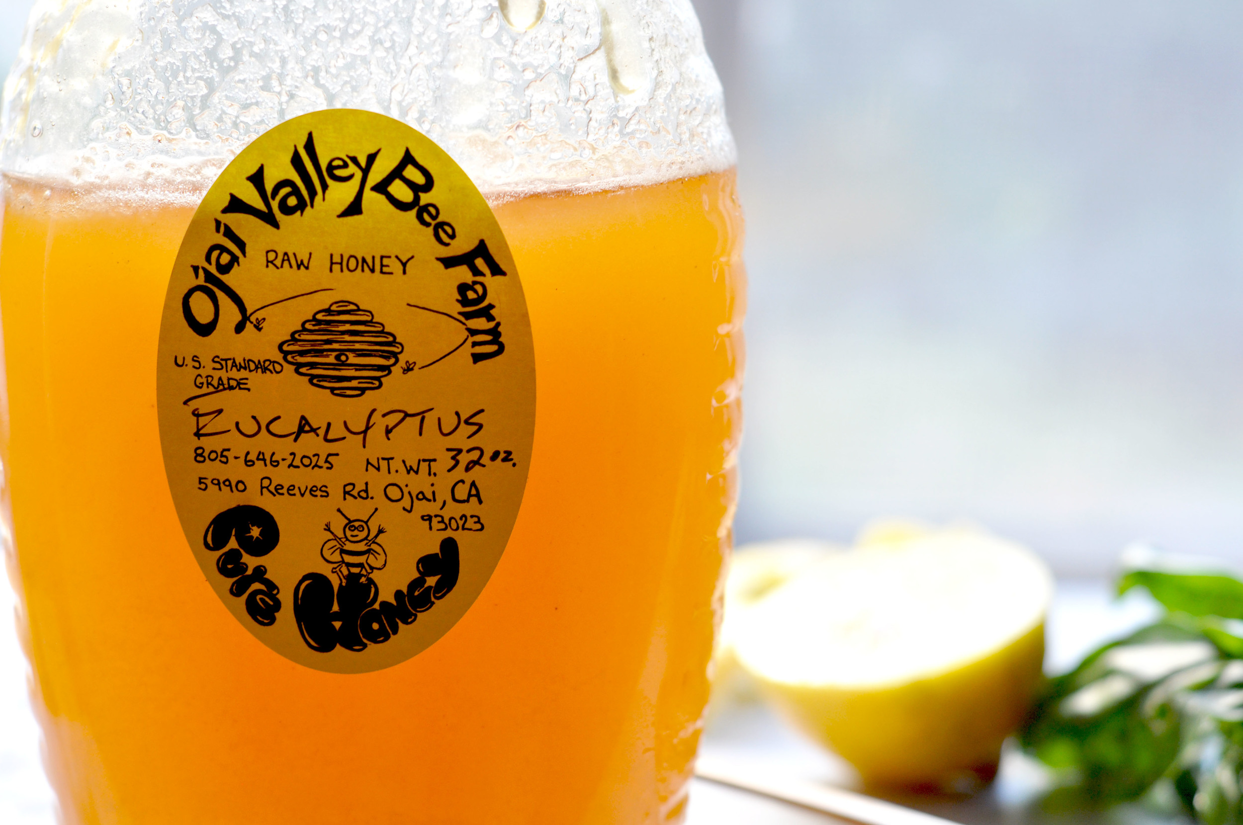 freeandnativejournal basil honey lemonade 2