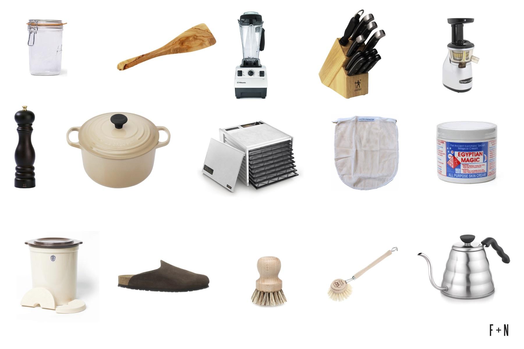 Free and Native Kitchen Essentials