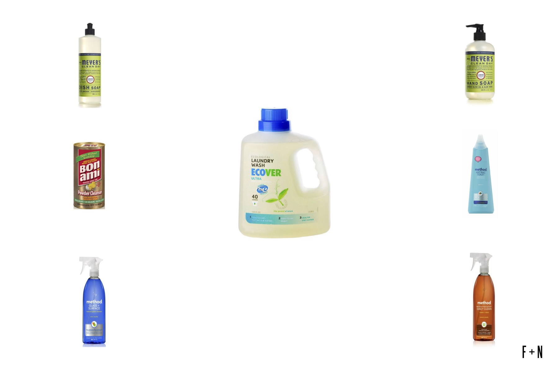 pure green cleaning products