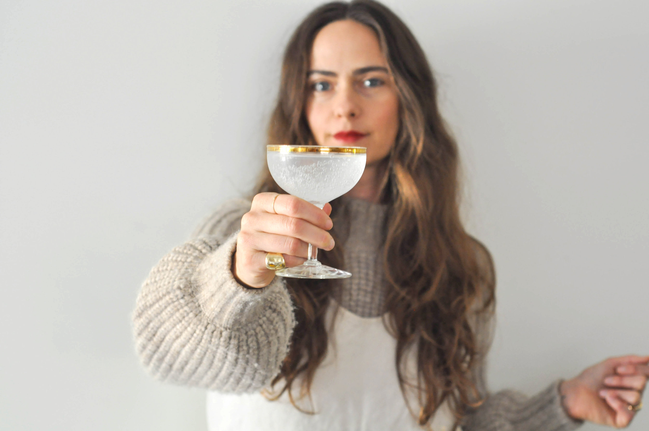 free-and-natieve_long hair, sweater, dress, rings, cheers, glass, red lips_1 (1 of 1).jpg
