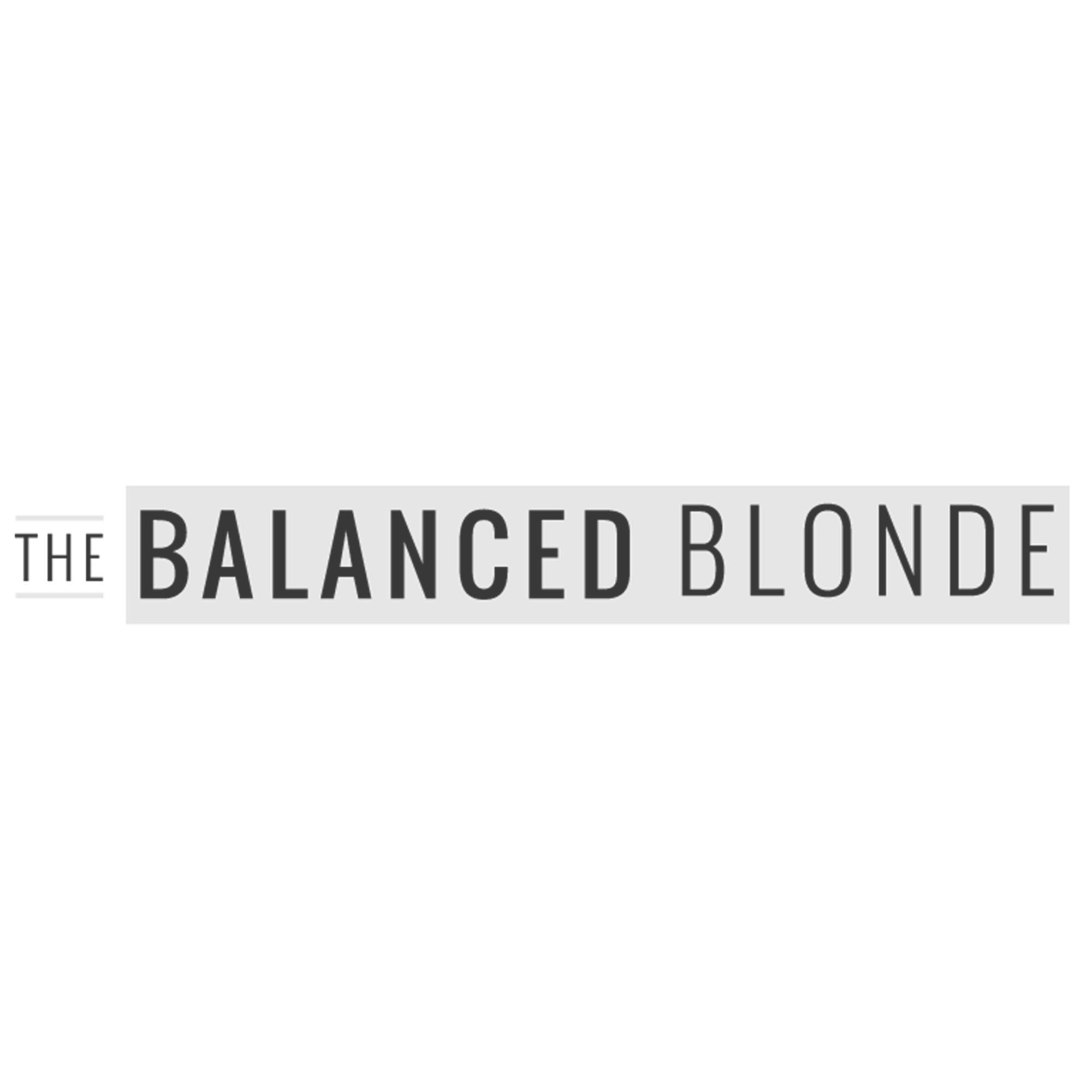 The Balanced Blonde Logo