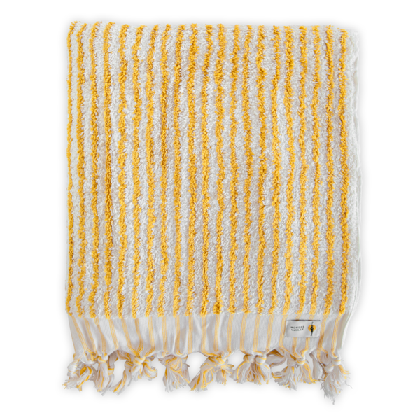Turmeric Striped Towel
