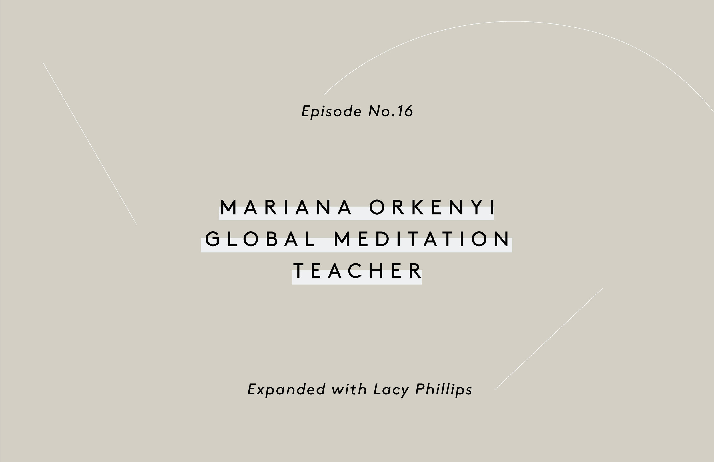 Mariana Orkenyi Meditation Teacher