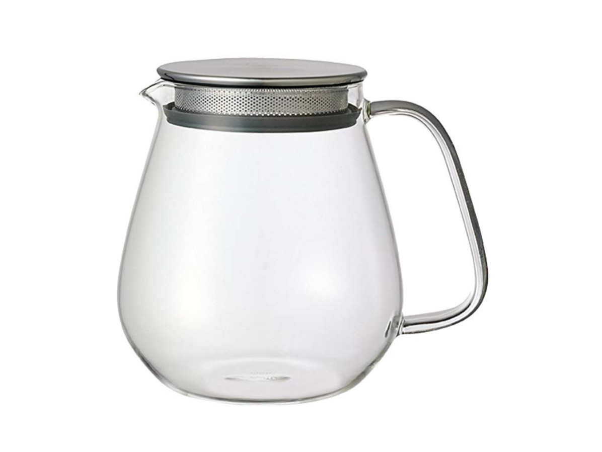 Glass Teapot, $37