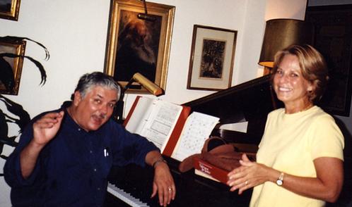 With Dan Barrett