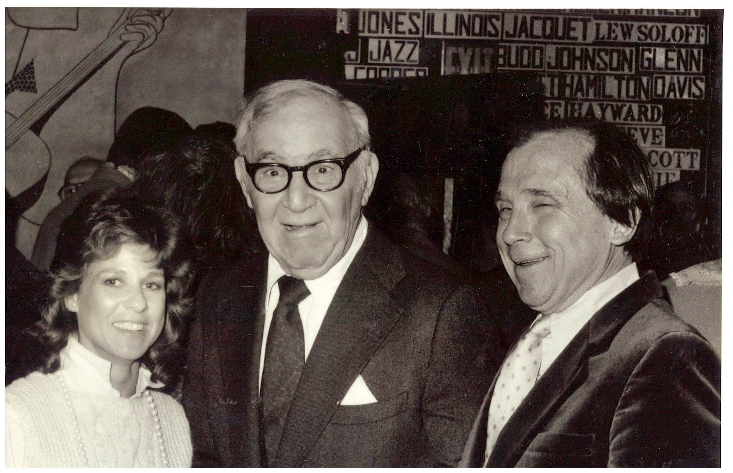 With Benny Goodman at Eddie Condon's