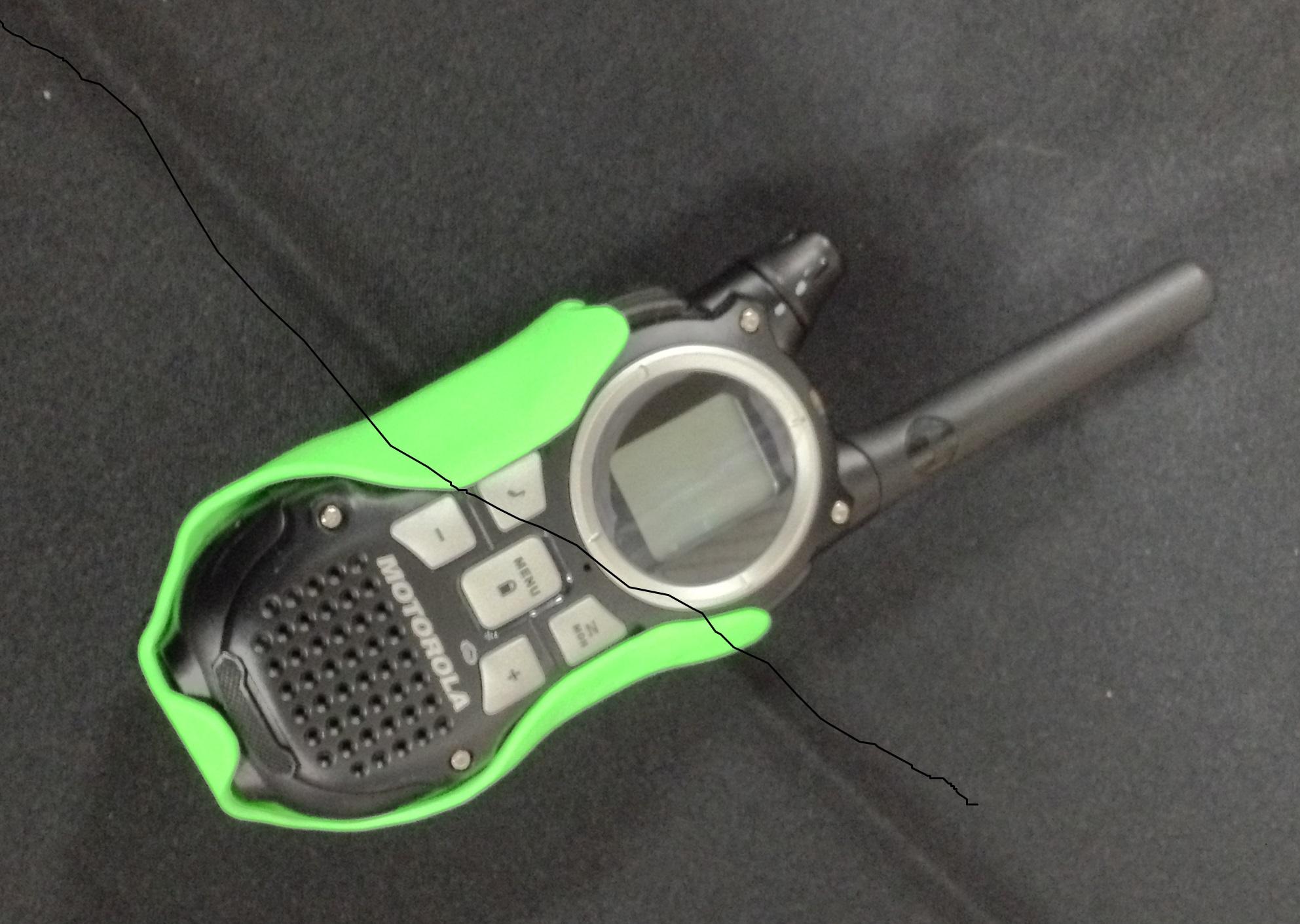 Motorolla Radio Carrier w/ Molle-Lok attachment