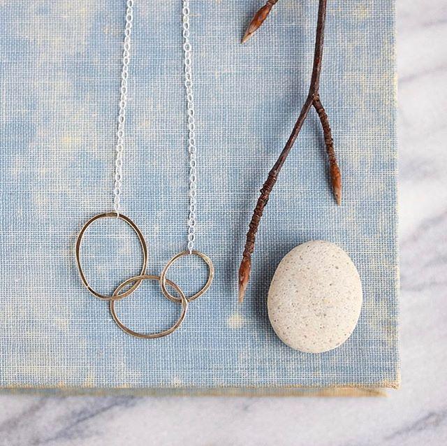 Handmade jewelry @rebeccahaas  #handmade #necklace #jewelry #fashion #makers #foundmademodern #shopsmallbusiness #shopsmall