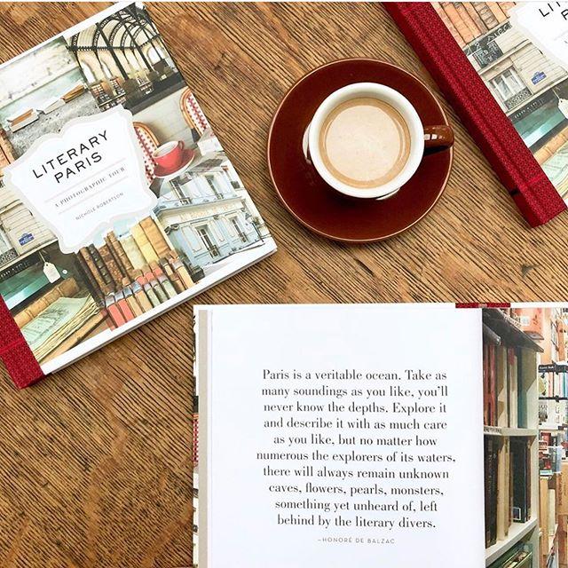 Literary Paris @nicholerobertson via @chroniclebooks Check it out!  #literaryparis #photography #paris #foundmademodern