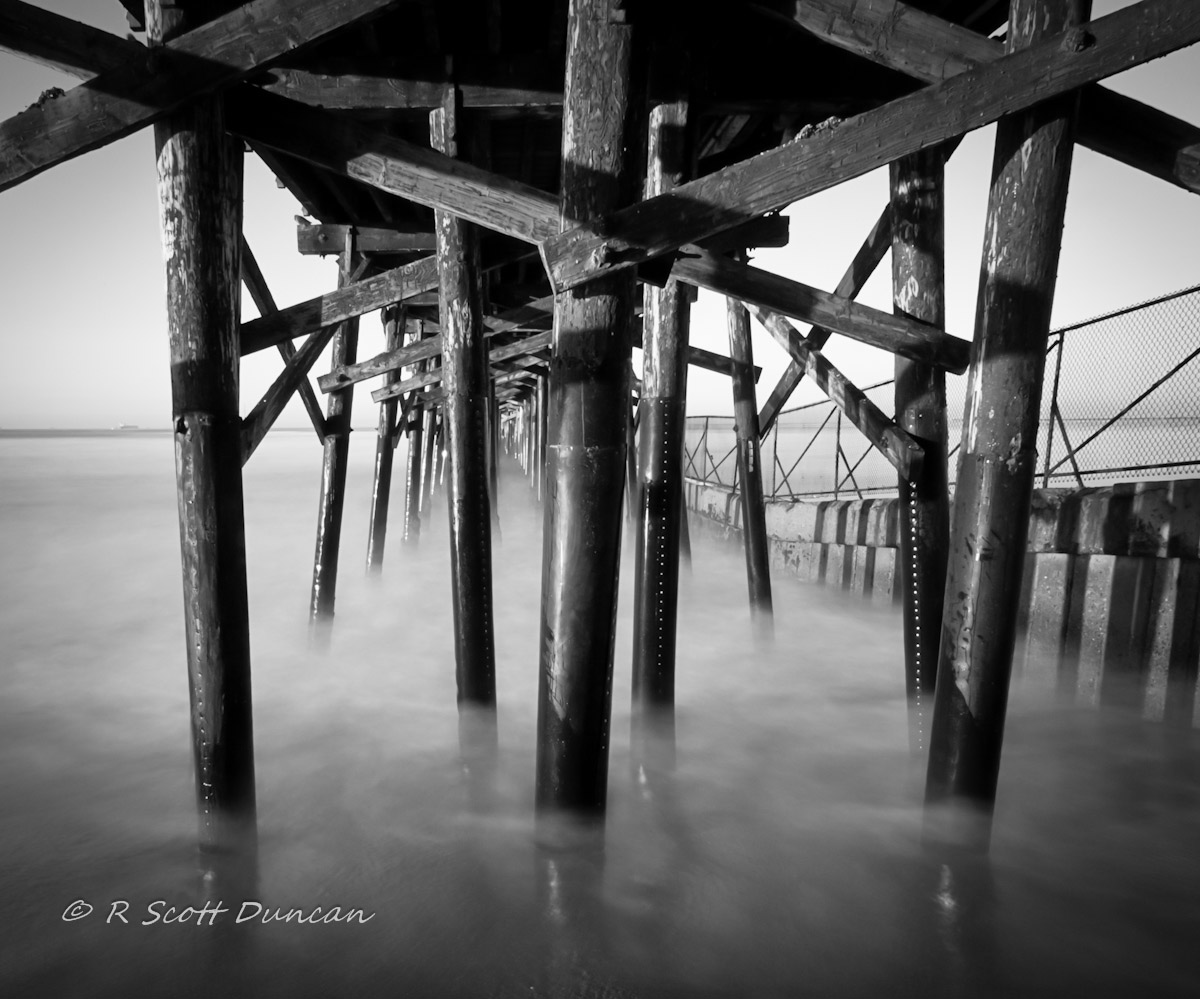 Seal Beach Pier - Long Exposure