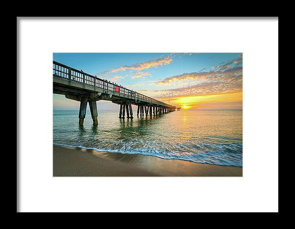 Pompano Beach Florida Framed Print
