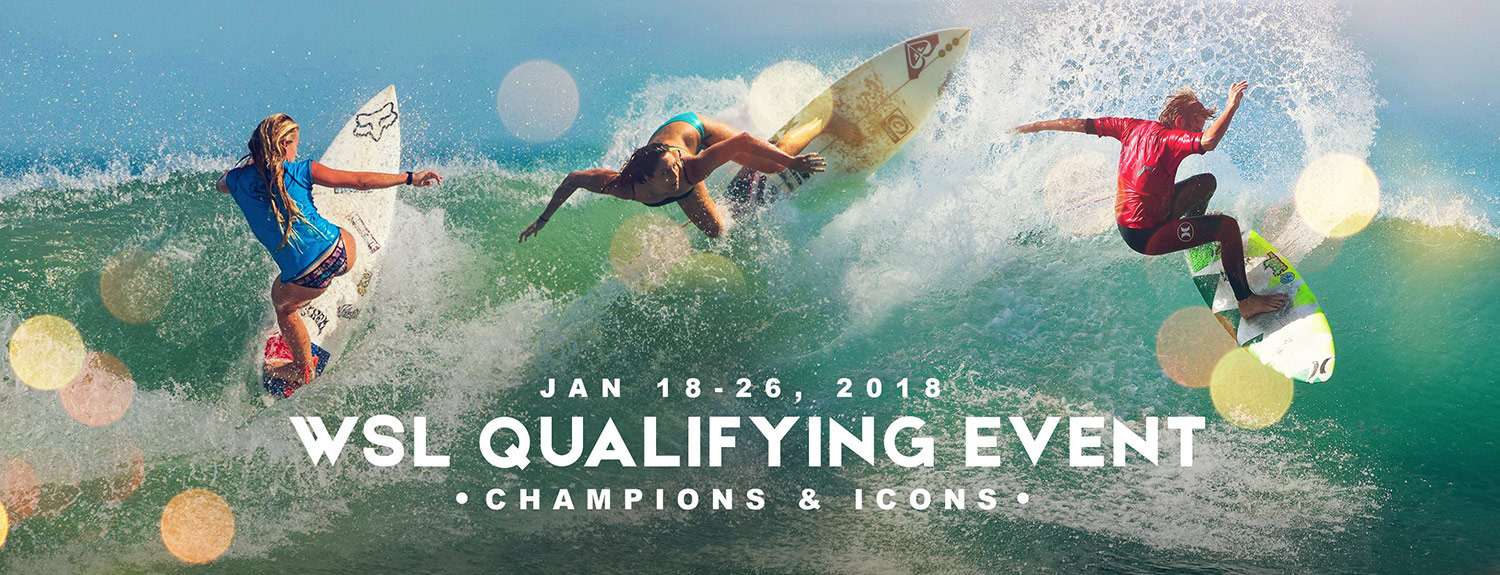 Florida Pro Surf January 18 - 26, 2018 Sebastian Inlet State Park, Florida