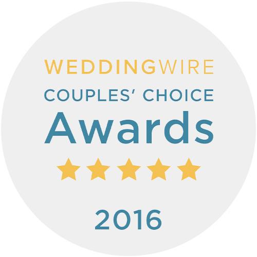 WeddingWire 2016 Winner
