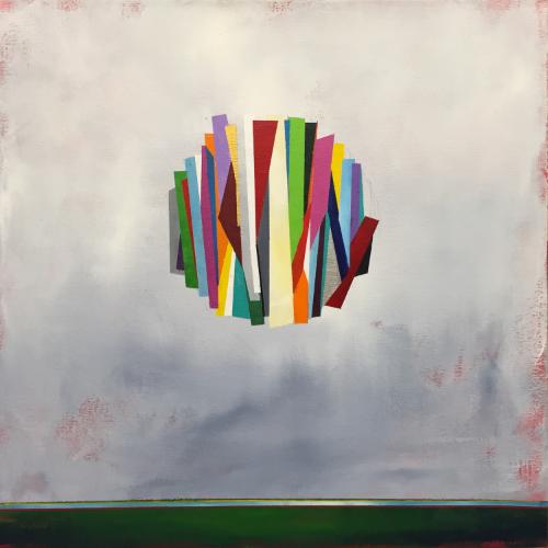 "Deconstructing Daybreak 18"" x 18"" Acrylic"