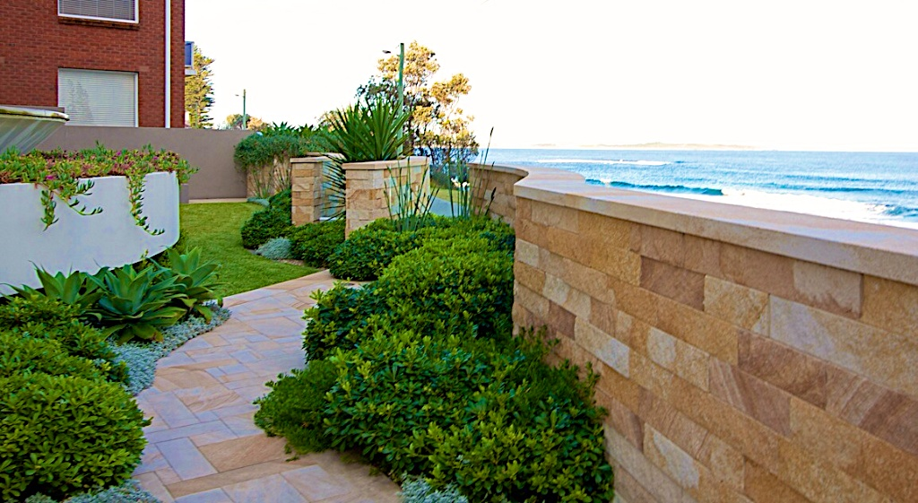 Cronulla South, Coast Apartments  Landscape Design, Residential Estate Design