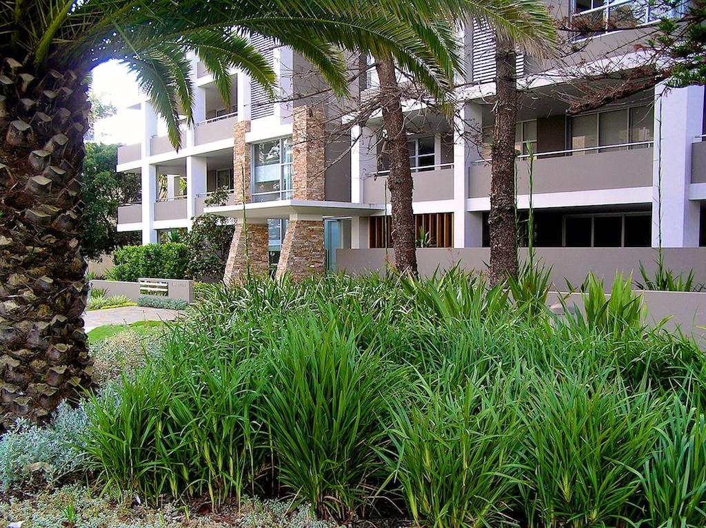 Cronulla, Drift Luxury Apartments  Landscape Architecture, Residential Estate Design